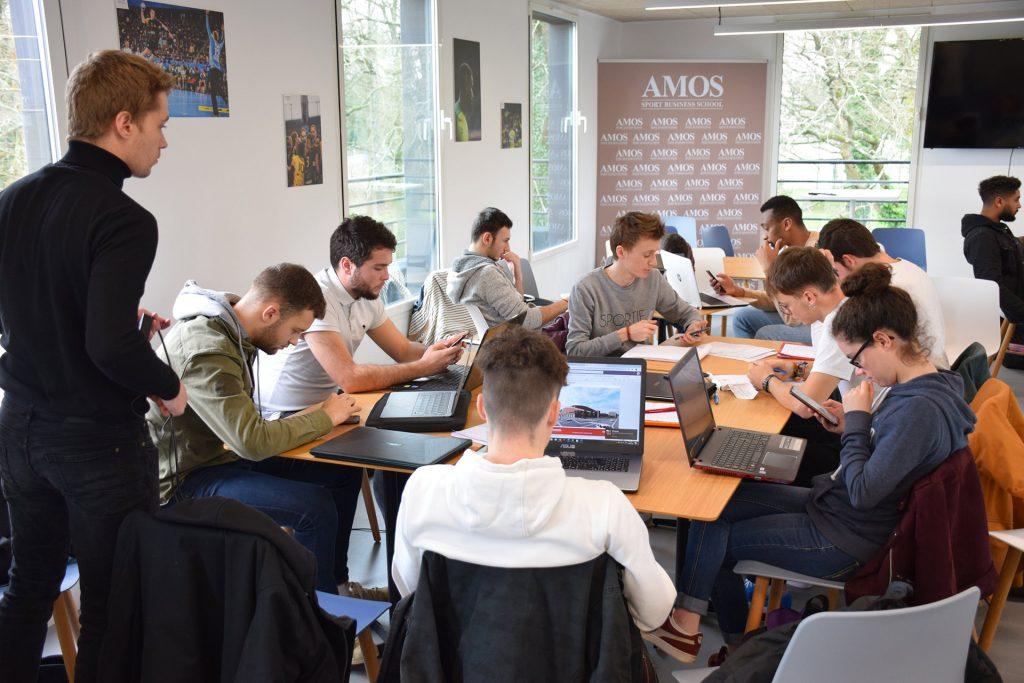 AMOS, L'école de management sportif à Nantes