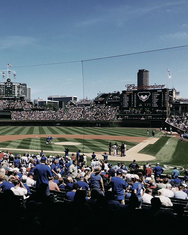 Baseball terrain