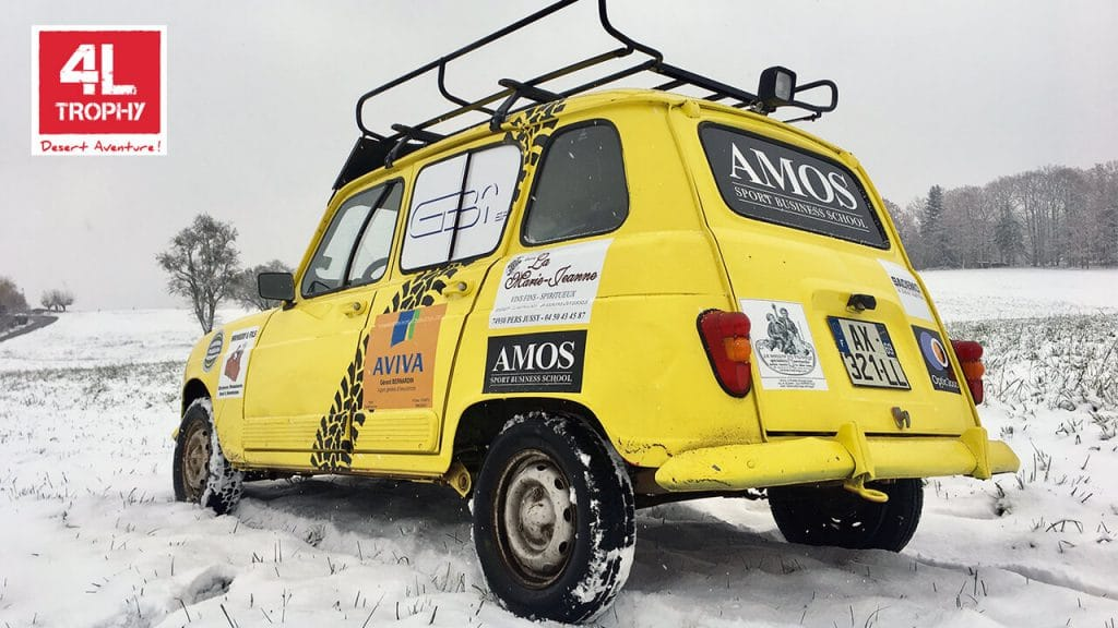 4L Trophy : En route pour AMOS 4L Express