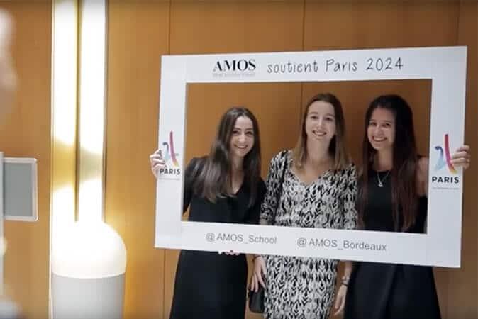 Cérémonie Remise des Diplômes - AMOS Bordeaux 2017