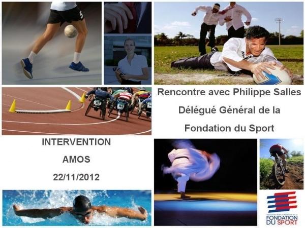 Philippe Salles, Délégué Général - FONDATION DU SPORT