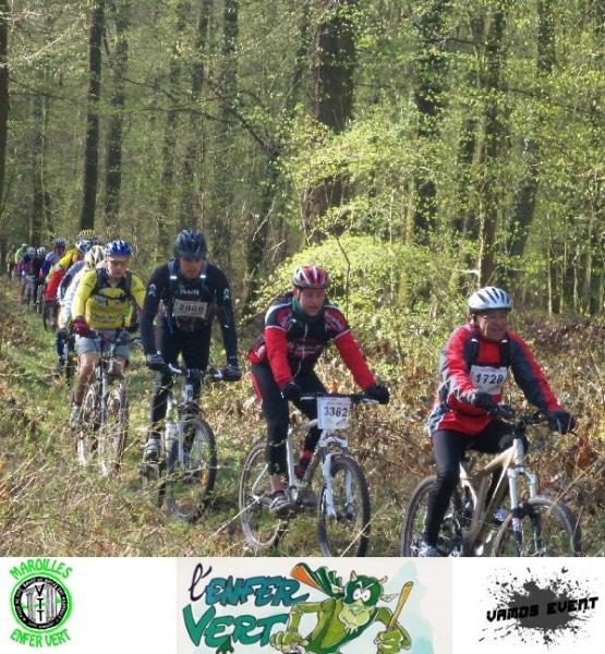 La cellule événementielle d'AMOS LILLE, VAMOS EVENT partenaire de la randonnée mythique L'Enfer Vert 2013 !