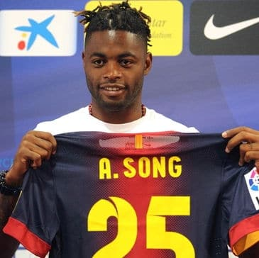Alexandre Song (FC Barcelone), Finaliste pour le Ballon d'Or africain