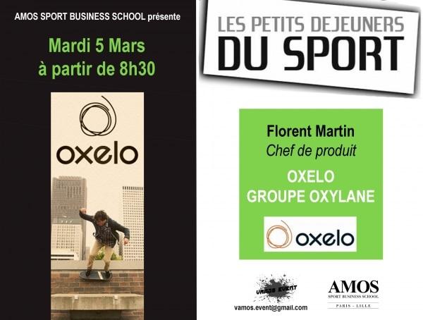 ÉVÈNEMENT AMOS LILLE : Les Petits-Déjeuners du Sport avec OXELO (groupe Oxylane)