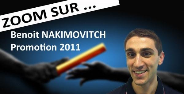 """Benoit Nakimovitch, promo 2011: """"Aujourd'hui, j'ai clairement réussi à me positionner sur l'évènementiel international"""""""