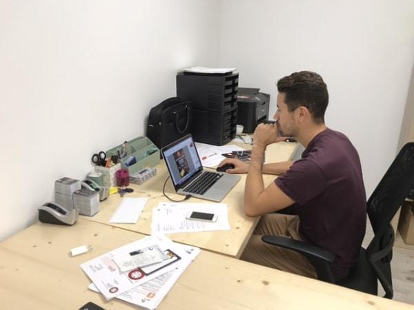 Enzo, Chargé de communication et développement chez O'Sports Club