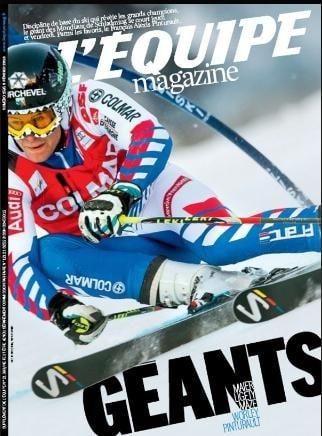 AMOS dans l'Equipe Magazine (dans les kiosques depuis le 9 Février)