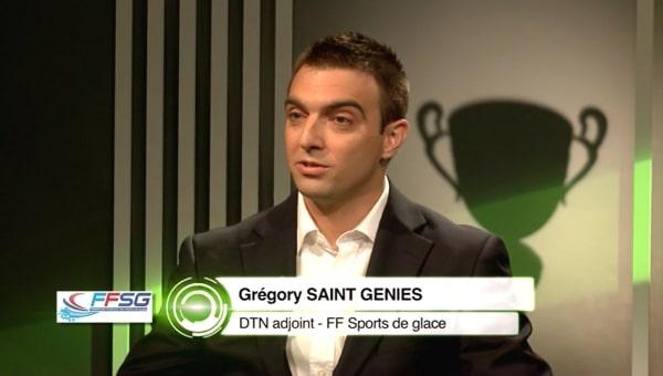 FF DES SPORTS DE GLACE: Grégory Saint-Genies, Directeur Technique National Adjoint