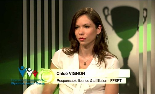 FF SPORT POUR TOUS: Chloé Vignon (promotion 2011), Responsable Licence & Affiliation