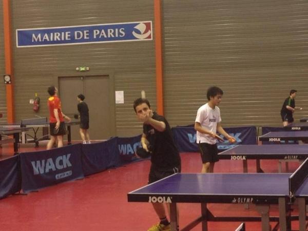 Kevin Chasson, étudiant AMOS qualifié pour les quarts de finale du Tournoi Open Universitaire d'Île de France de Tennis de Table !