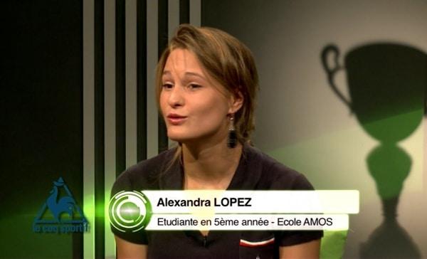 LE COQ SPORTIF: Alexandra Lopez (étudiante AMOS), Assistante Trade Marketing & Communication