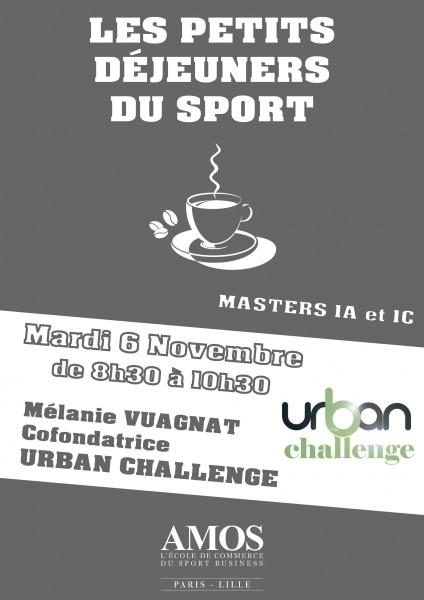 ÉVÉNEMENT AMOS : Les Petits-Déjeuners du Sport avec Urban Challenge