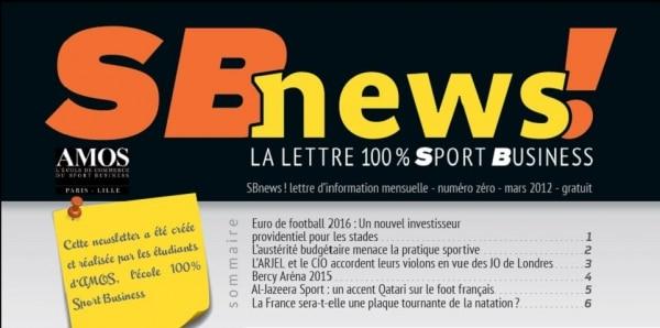 La SBnews: La lettre 100% Sport Business crée et réalisée par les Amosciens