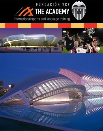 Les étudiants de l'académie du F.C Valence (The Academy), en relation avec l'Université de Valencia (Espagne) sont de passage en France !
