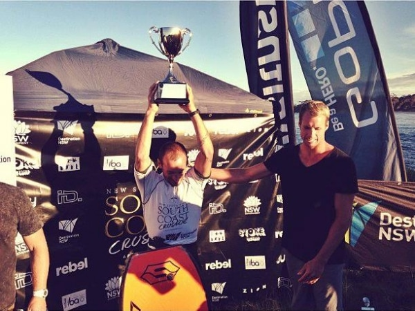 Le bodyboardeur Amaury Lavernhe prend la tête du classement mondial IBA (The International Bodyboard Association)