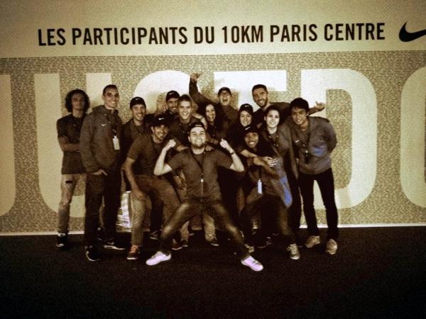 10km Paris Centre: Bénévoles et équipe AMOS présents pour vivre cette 11e édition
