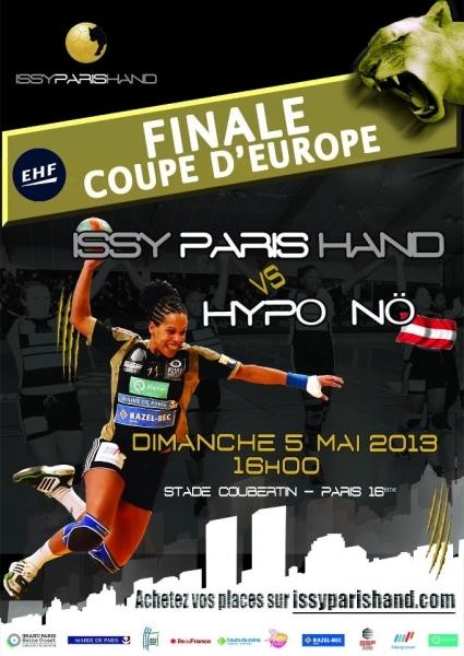 Handball Féminin : notre partenaire Issy Paris Hand en finale de Coupe d'Europe !