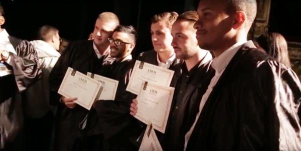 Retour en images sur la cérémonie d'inauguration & remise des diplômes d'AMOS Paris !