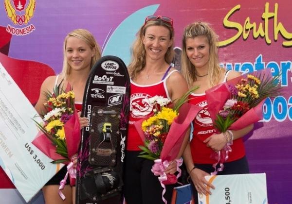 Water Ski World Cup Palembang : Iris Cambray, notre AMOScienne sur le podium !