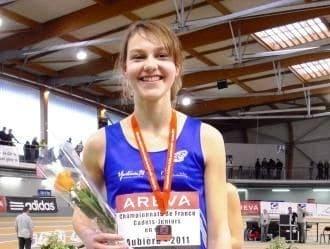 Justine BISIAU, étudiante en 2ème année de Bachelor participera au Championnat de France Universitaire d'Athlétisme en salle (saut en hauteur)