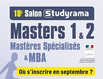 AMOS vous donne rendez-vous Samedi 7 Septembre au Salon des Masters 1 et 2, MS & MBA à Paris