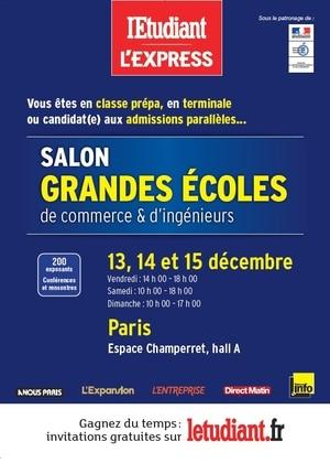 AMOS vous donne rendez-vous sur le Salon Grandes Ecoles de Commerce et d'Ingénieurs (Paris) !
