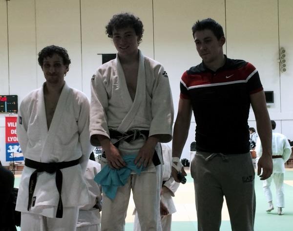 Sport U: Notre lyonnais Mathieu Baillet (MBS 1) remporte le premier tournoi universitaire en judo