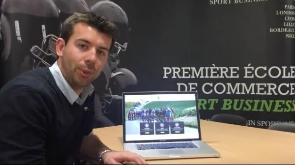 Portrait: Thibaut Huvelle (promo 2014), Coordinateur général du Tour de Picardie