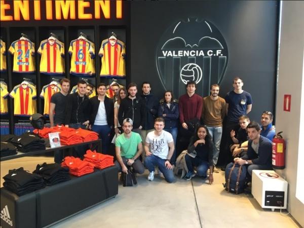 Découverte du sport business espagnol avec Valencia CF (partenaire AMOS)
