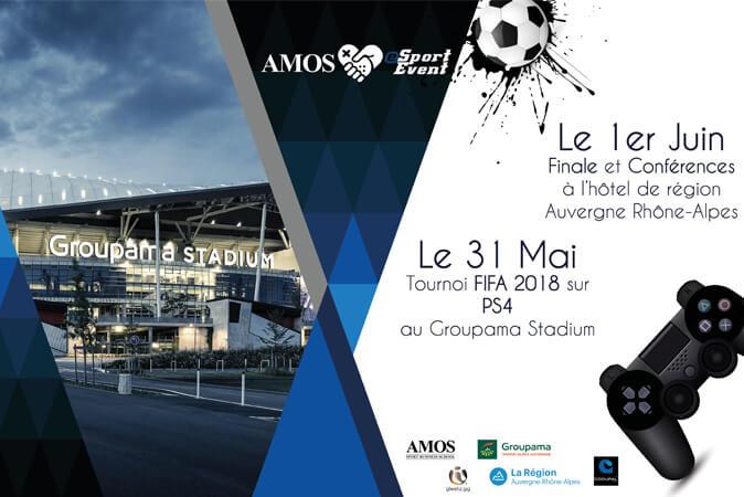 Seconde édition de l'AMOS eSport Event