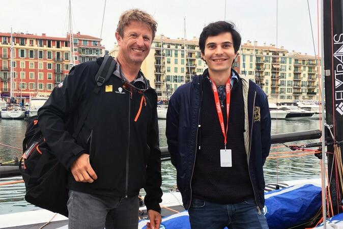 NiceUltimed : Interview du skipper français Jean-Pierre Dick