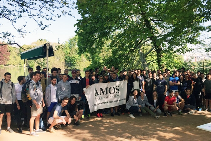 « AMOS fun race » à Lyon