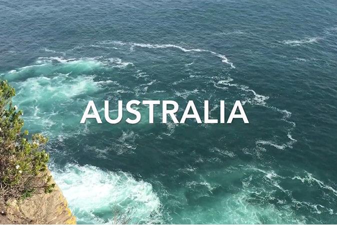 Une expérience internationale en Australie