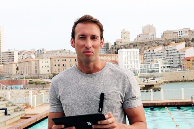 En tête à tête avec Fabien Gilot, parrain de promotion d'AMOS Marseille