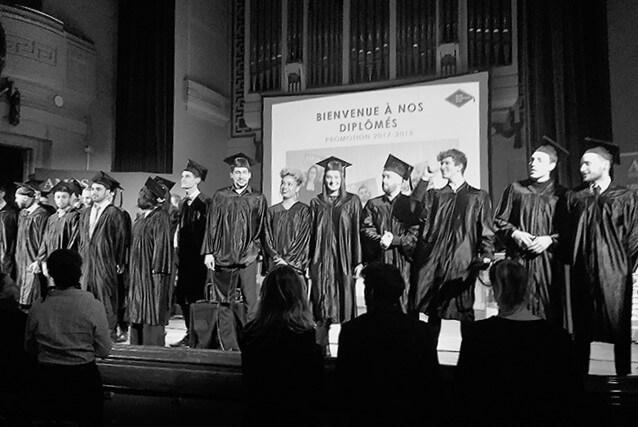 AMOS LYON – Lumières sur la cérémonie de remise des diplômes !