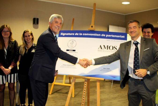 Le CDOS 06 et AMOS Nice signent un partenariat
