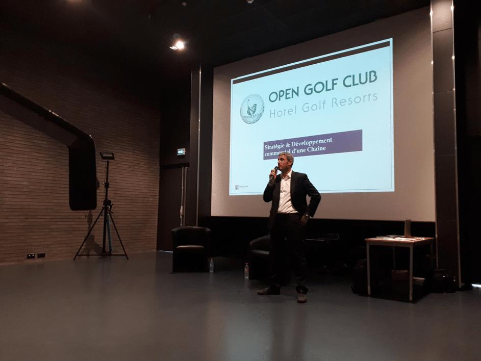La stratégie et développement commercial de Open Golf Club
