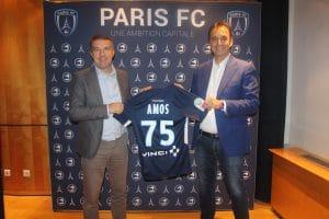 AMOS Sport Business School renouvelle son partenariat avec le Paris FC