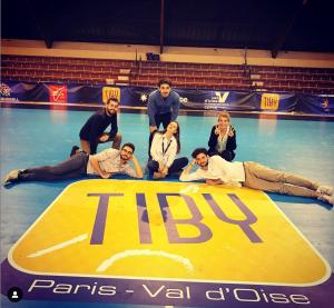 l'équipe réduite avec les compagnes de Thibault et Justin Valeriia (AMOS) et Petra