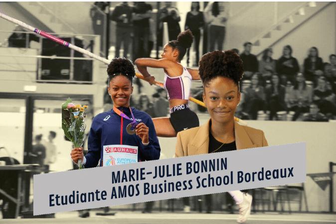 Rencontre avec Marie-Julie Bonnin, étudiante et athlète !