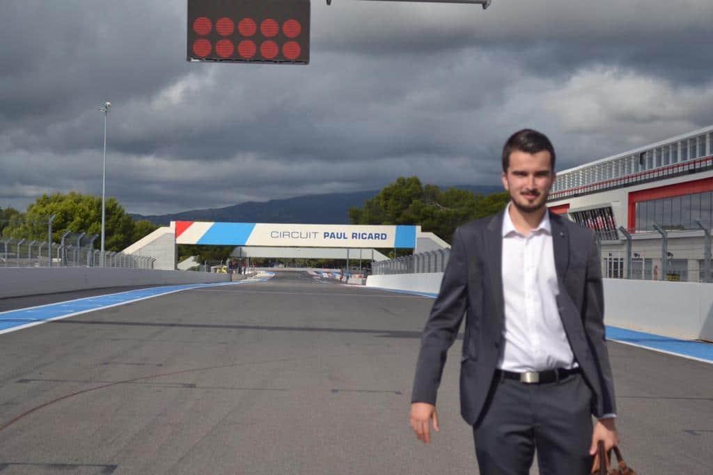 MasterClass au Grand Prix de France de F1 pour les AMOSciens marseillais