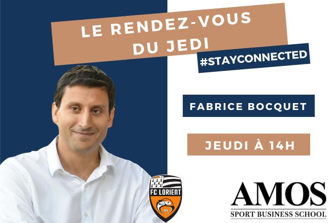 Rencontre en live avec Fabrice Bocquet, Directeur Général du FC Lorient !