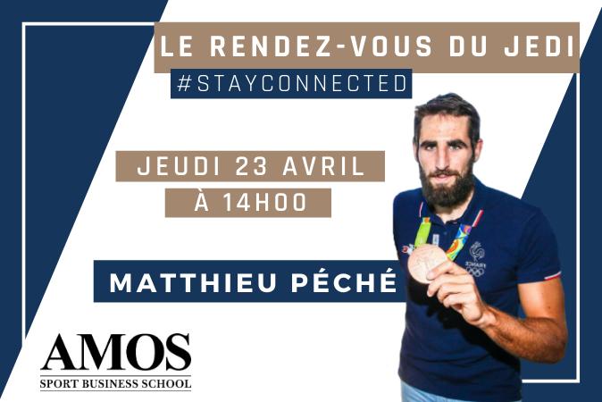 Rendez-vous du Jedi avec Matthieu Péché,  champion de canöé kayak et aujourd'hui manager d'une équipe d'e-sport !