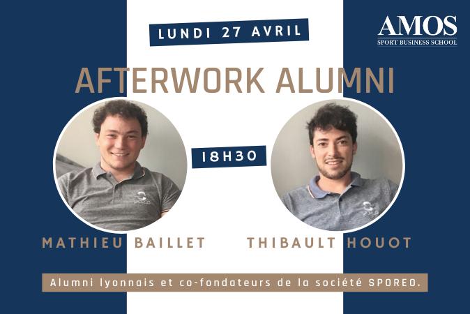 Afterwork avec Mathieu Baillet et Thibault Houot, co-fondateurs de SPOREO