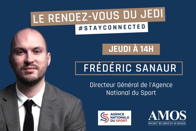 EXCLUSIF : EN DIRECT avec Frédéric SANAUR Directeur Général de l'Agence du Sport
