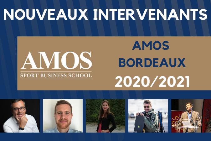 MERCATO AMOS Bordeaux :  DE NOUVEAUX INTERVENANTS A LA RENTRÉE 2020