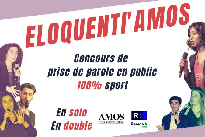 ELOQUENTI'AMOS - Le premier concours de prise de parole en public 100% sport