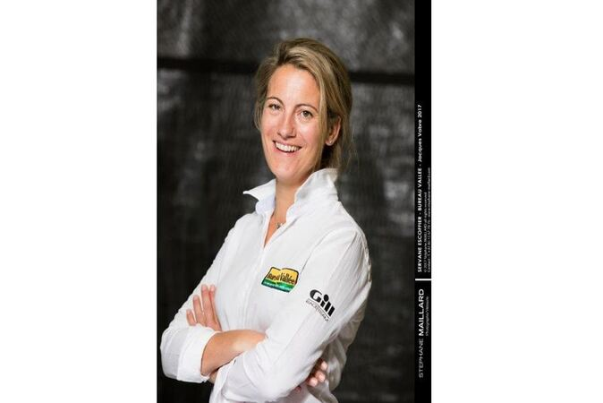 Servane Escoffier - Skipper, Directrice Générale de BE RACING