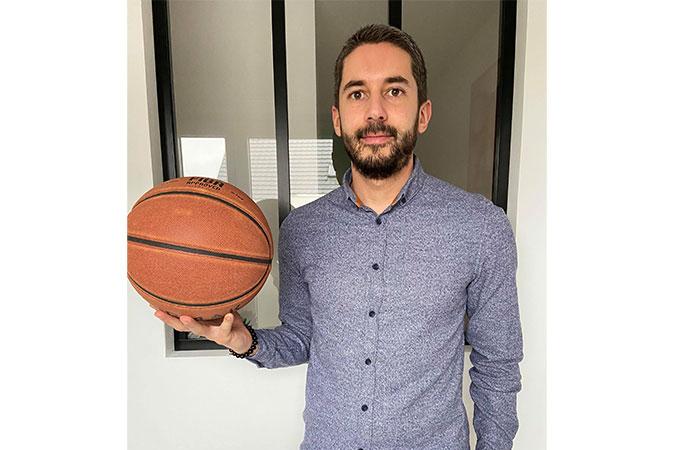 Arnaud RIETSCH Directeur Basket Center