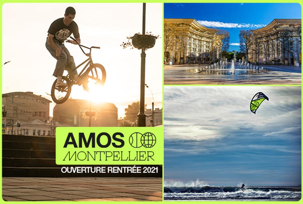 Ouverture du campus AMOS (Académie de Management des Organisations Sportives) à Montpellier